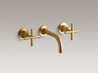"brass finish of ""Purist"" from Kohler"