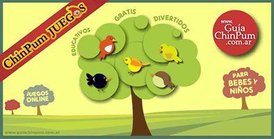Juegos online para niños y niñas de 2, 3, 4 años