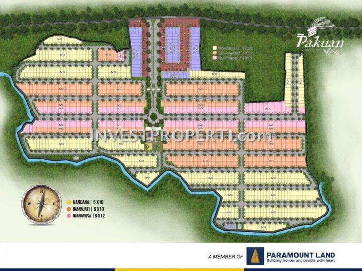 Site Plan Perumahan Pakuan Village Curug #paramountland #pakuanvillage