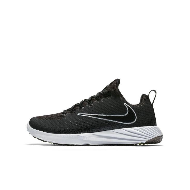 Nike Vapor Speed Turf  Big Kids' Football Shoe Size 4.5Y (Black)