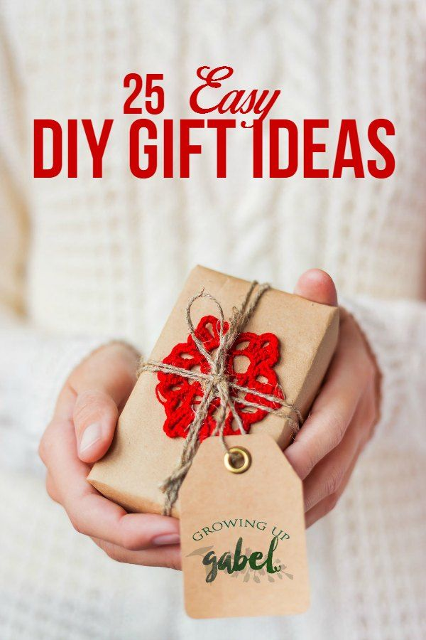 Give a DIY gift ideas for Christmas! Perfect for mom, for kids, for him, for her, for friends, and for everyone on your list!