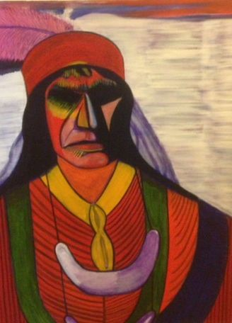 At Home: Seminole Reservations and Contemporary Native Art by Elgin Jumper  ‹ South Florida State College Museum of Art and Culture