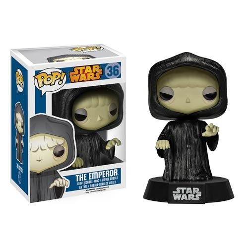 This Star Wars Pop! Emperor Vinyl Figure is a very cute, huge headed Emperor.