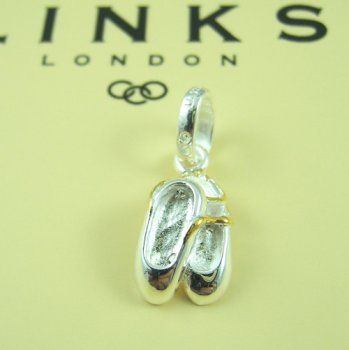 Links of London Ballet Shoes Charm #jewelrylover