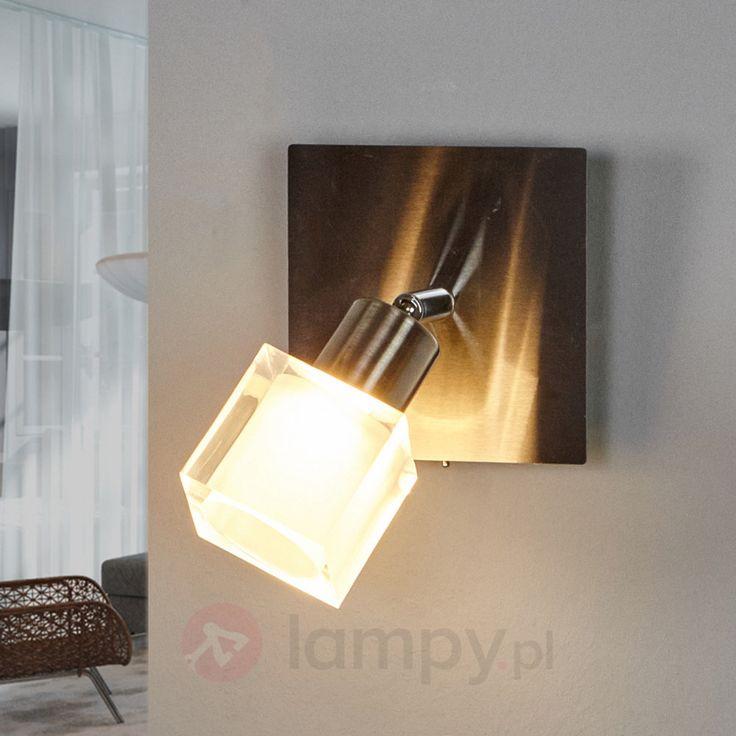 Lampa ścienna LED Emina z przełącznikiem 9994065
