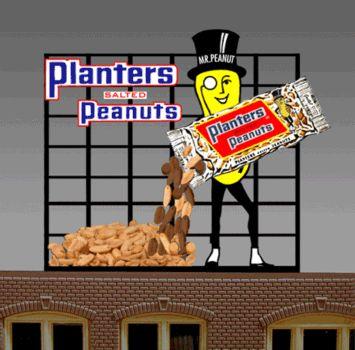 Miller 7061 Planters Peanuts, Large