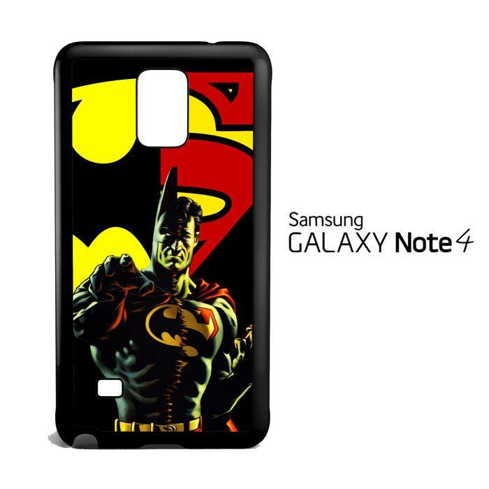 superman vs batman C0404 Samsung Galaxy Note 4 Case