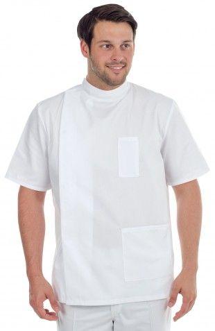 678 MENS TUNIC MANDARIN COLLAR - Dental Uniforms Online - Healthcare - Harveys…