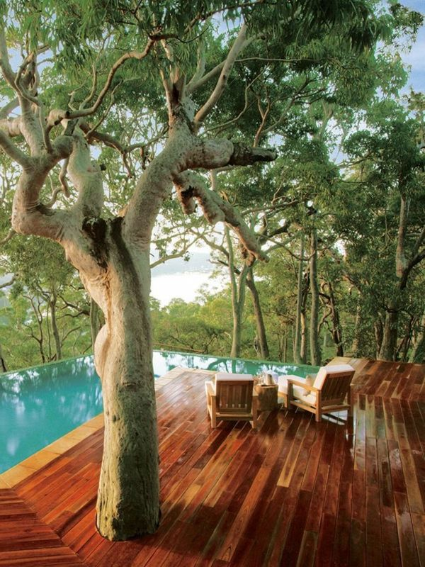 187 best piscine images on pinterest conception - Piscine hors sol tole ...