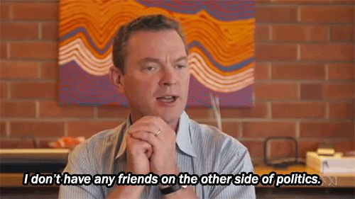 Not sure why there aren't more Christopher Pyne gifs
