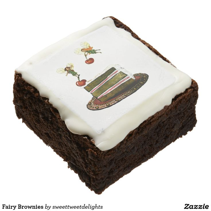 Fairy Brownies for those Christmas Stockings!  #christmasgifts  #christmas #brownies