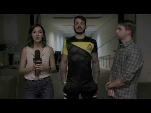 MMA Fight Night Brasilia: Erick Silva Backstage Interview