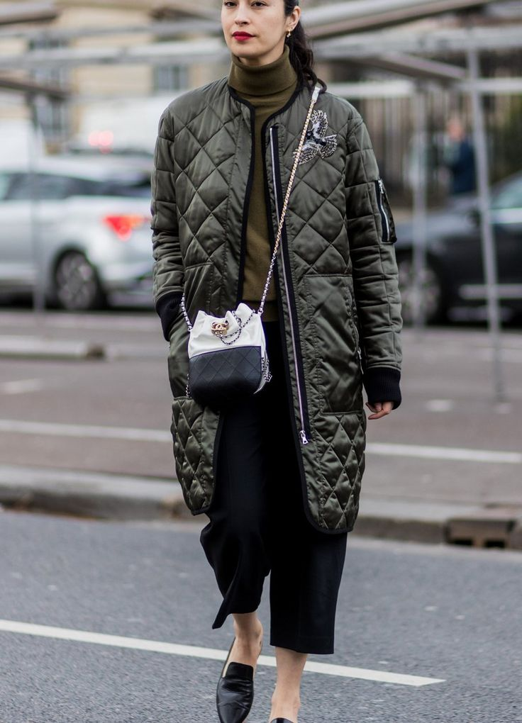 Street Style mit Winterjacke