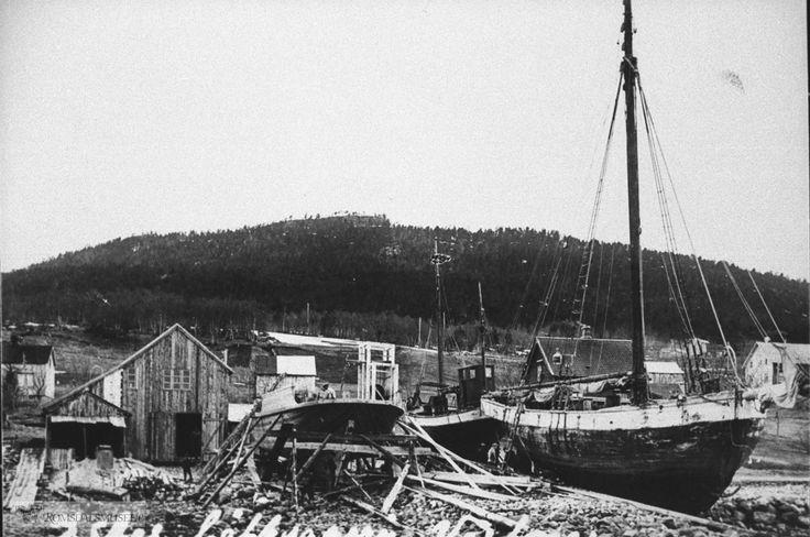 Johan Aas båtbyggeri.
