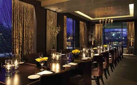The first couple marked the occasion with a dinner for two at the Bourbon Steak restaurant in the Four Seasons hotel in Washington's upscale Georgetown section. Description from freerepublic.com. I searched for this on bing.com/images