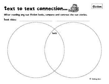 Reading comprehension graphic organizer | Reading | Pinterest