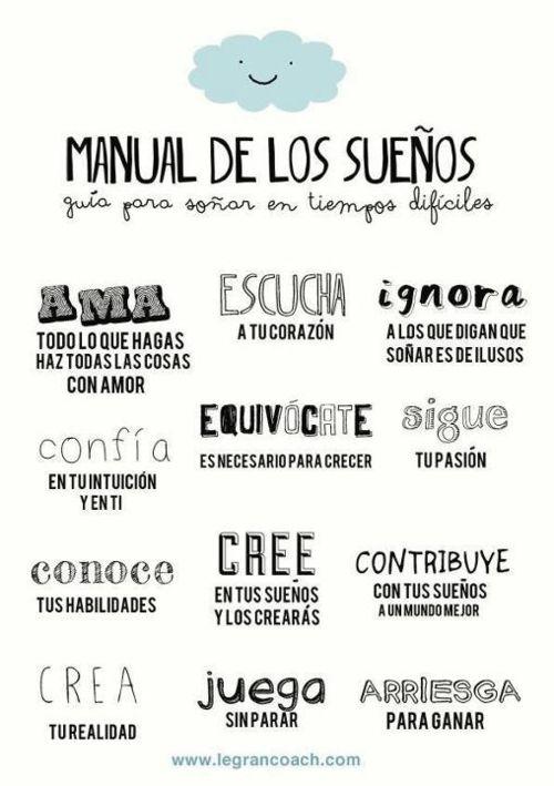 Manual de los sueños - Guía para soñar en los tiempos difíciles :: SerFelices.org