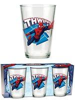 Spider-Man-juomalasit (3 kpl)