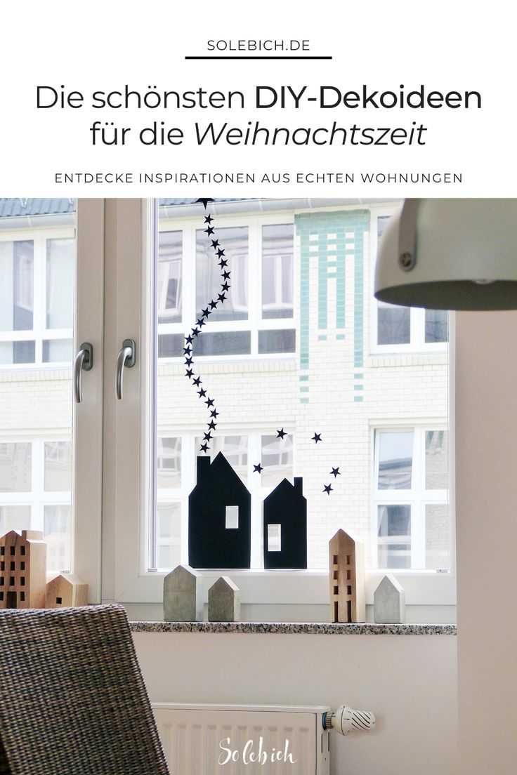 Die schönsten DIY-Dekoideen für deine Weihnachtsdeko!  Foto: matrixfehler #sol…