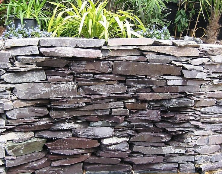Natural Slate Wall Water Feature