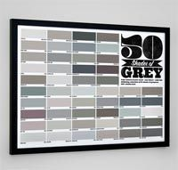 50 Shades of Grey Poster £9.99 from Firebox