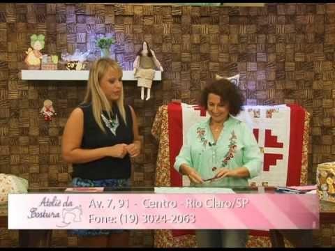 Fazendo Arte - Necessaire em patchwork (25.04.14) - parte 1 - YouTube