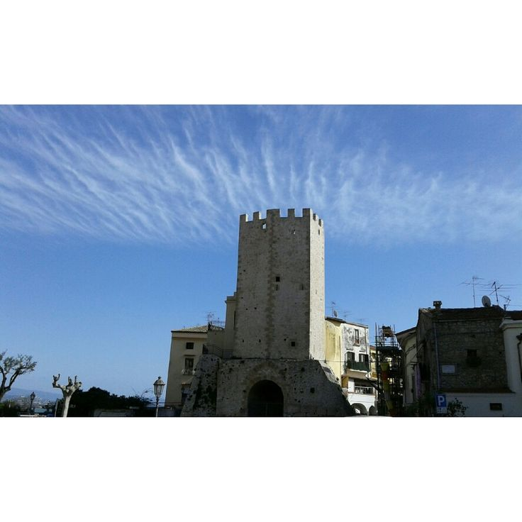 #tower#sky#clouds