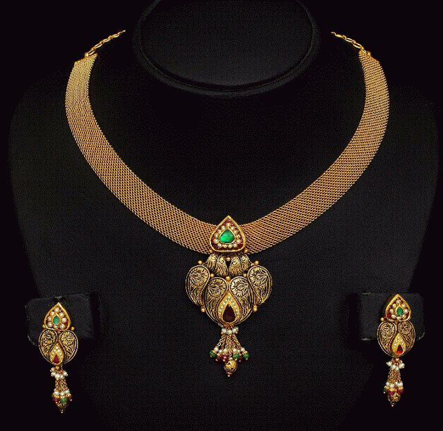 Jewellery Designs - Page 581 of 632 - Latest Indian Jewellery Designs 2015 ~ 22 Carat Gold Jewellery
