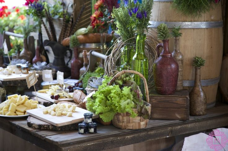 Декор сырного стола