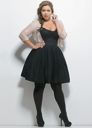 Cute plus size little Black Dress