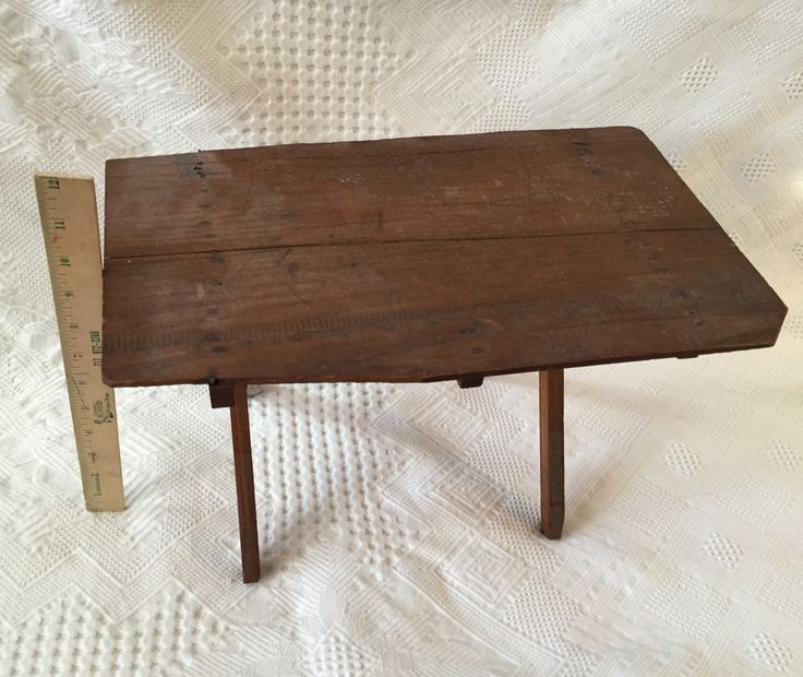 Antique primitive child's folding sewing table by KaysVintageFavorites on Etsy https://www.etsy.com/se-en/listing/257632920/antique-primitive-childs-folding-sewing
