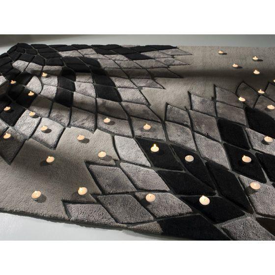 Современный дизайнерский ковер серого цвета из Италии #carpet #carpets #rugs #rug #interior #designer #ковер #ковры #дизайн  #marqis
