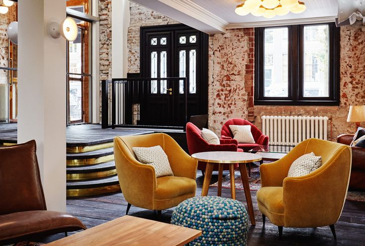 The Hoxton, Amsterdam: High design & hipster hotel, restaurant & lounge, with canal views and stunningly beautiful interior design | Recommended by HYHOI.com: Have You Heard Of It? | A curation of design-led hotspots around the world, tried and tested