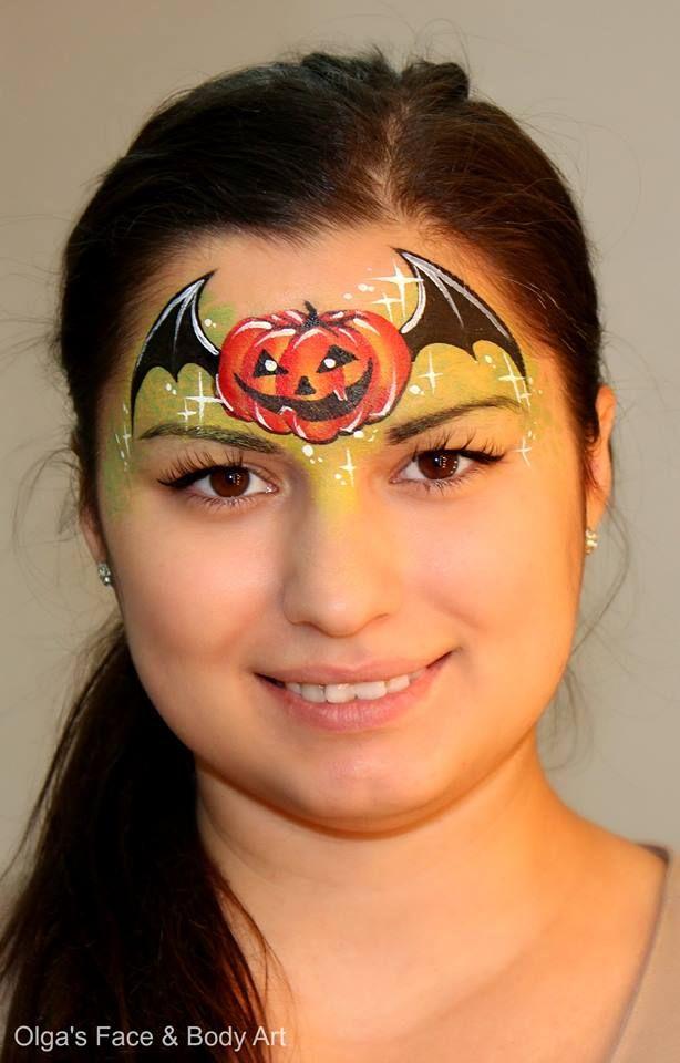 flying pumpkin Halloween Olga Meleca