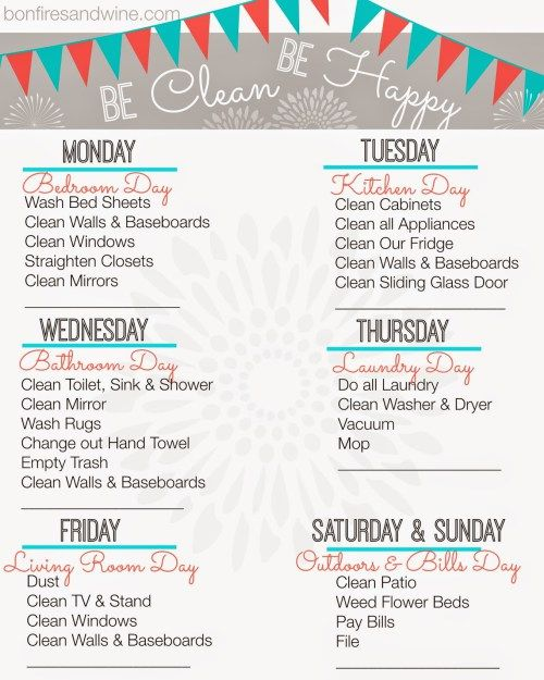 Best 25+ Cleaning schedule templates ideas on Pinterest Weekly - sample cleaning schedule template
