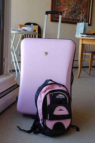 http://airlinepedia.net/pink-luggage.html The best quality and most adorable pink luggage for women and children. The coolest models and designs of travel suitcase sets all of which are pink, yeah! #206: Yeah, I said PINK!