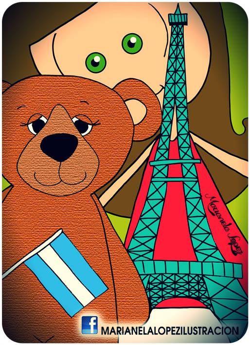 UN OSITO ARGENTINO EN PARIS