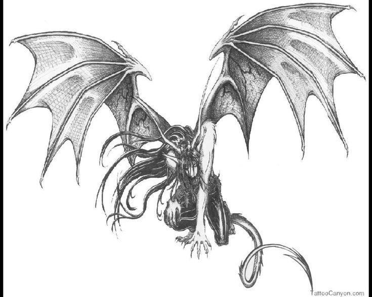 17 Best Ideas About Angel Demon Tattoo On Pinterest