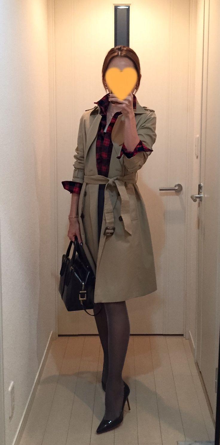 Trench coat: ANAYI