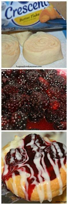 Mini Blackberry Chee Mini Blackberry Cheese Danishes - Hugs and...  Mini Blackberry Chee Mini Blackberry Cheese Danishes - Hugs and Cookies XOXO Recipe : http://ift.tt/1hGiZgA And @ItsNutella  http://ift.tt/2v8iUYW