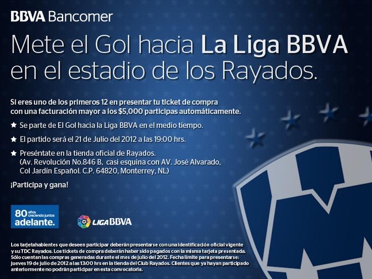 ¡Participa en la activación de Rayados vs América en el Tec el próximo 21 de julio! Fecha límite para la recepción de tickets: 19 de Julio 13:00 hrs.