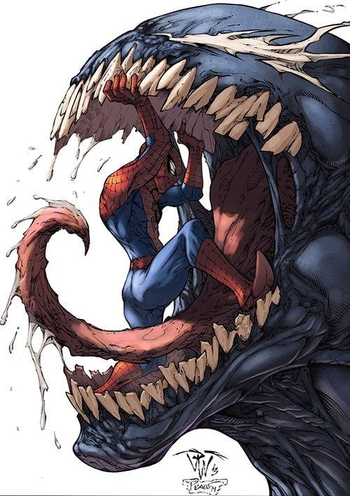 Spider-Man vs. Venom by Paolo Pantalena, colours by Logicfun