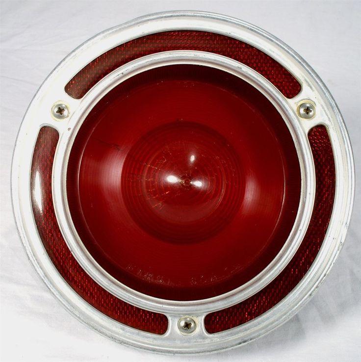 Original 1960 61 Ford Falcon Frst 60a Car Tail Light Lens