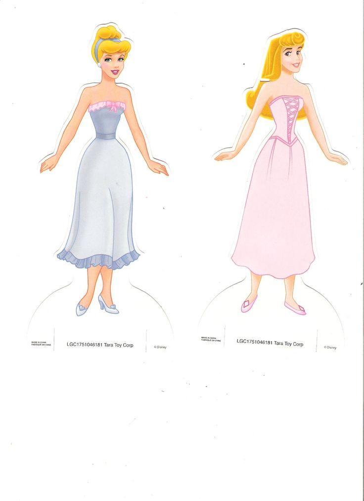 Miss Missy Paper Dolls: Disney Princess Paper dolls