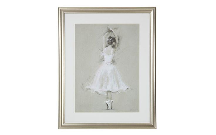 Pirouetting Ballerina Framed Print at Laura Ashley