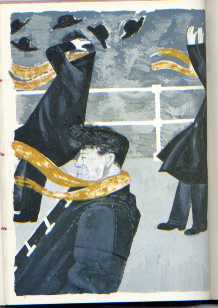 Illustration by Robert Tavener (1920 - 2004)