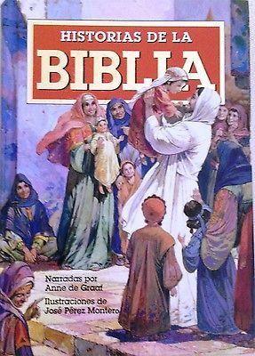 Spanish Edition! Historias de la Biblia by Anne De Graaf (Hardcover) 2006