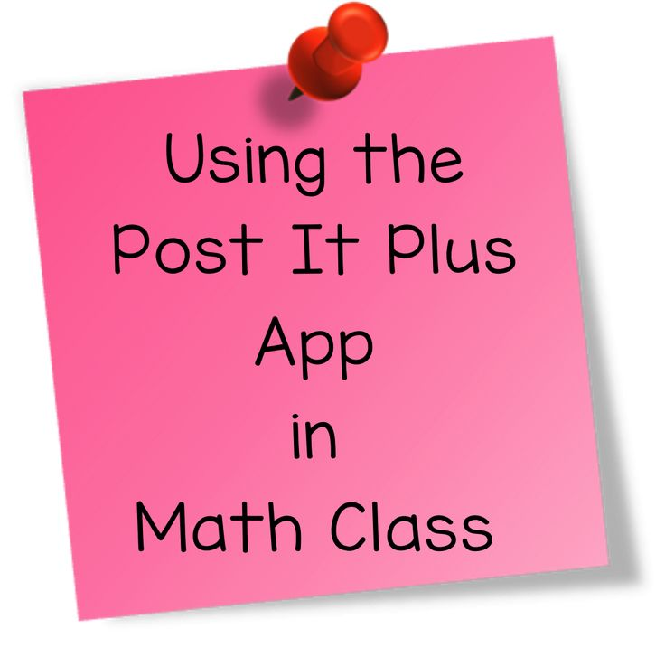 Using the Post It Plus App in Math Class by Teaching High School Math!