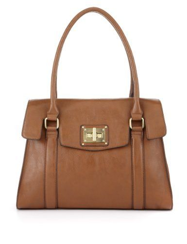 M Collection Chunky Turn Lock Tote Bag - Marks & Spencer