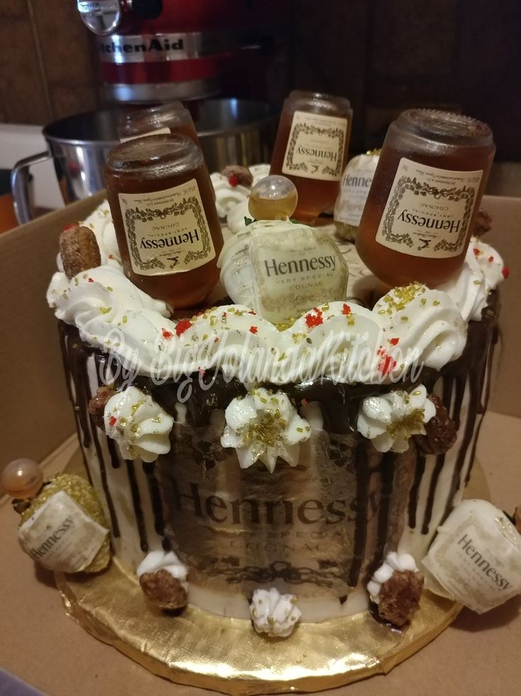 Best 25 Hennessy Cake Ideas On Pinterest Hennessey